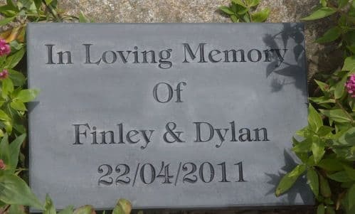 Heavy Slate Signs  -  50mm Thick | The Sign Maker Shop